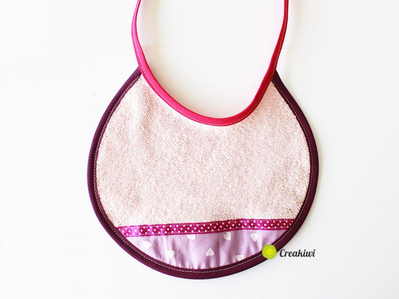 Petit bavoir bavouille pour bébé de 0 à 6 mois Creakiwi