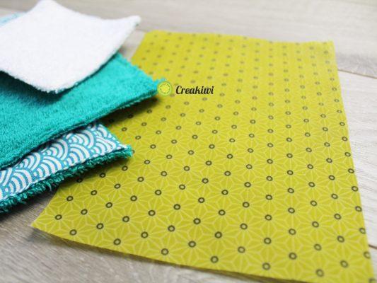 PACK découverte du zéro déchet (lingettes démaquillantes, essuie-touts, Bee Wrap)