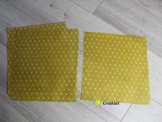 Lot de 3 Bee Wraps Jaune