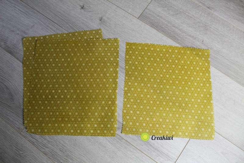 Lot de 3 Bee Wraps Jaune