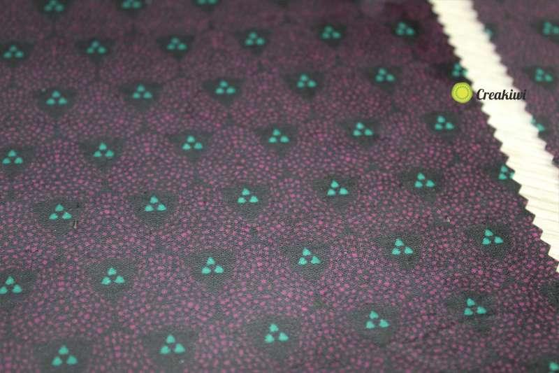 Lot de 3 grands Bee Wraps violet 30x35cm