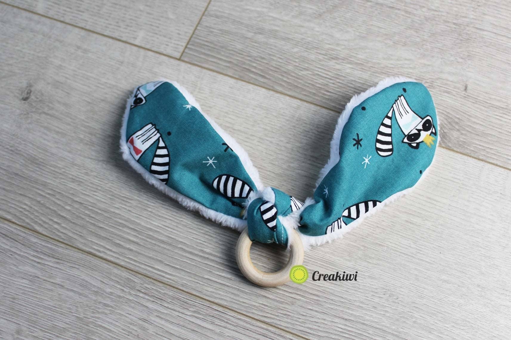Un pack cadeaux de naissance joli motif Creakiwi